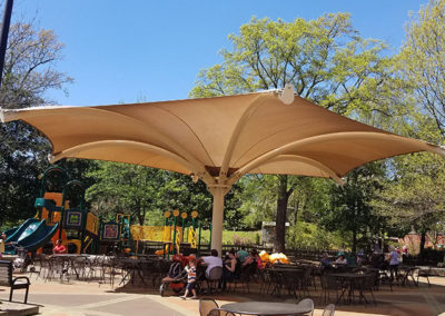 Memphis Zoo Shade Structure (Cat House)